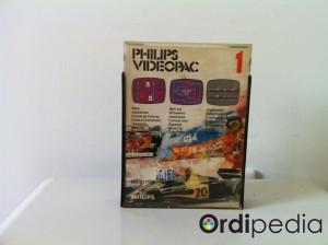 Videopac 01 – Course de voitures