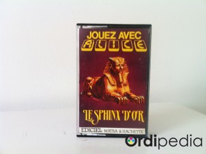 Le Sphinx d'or Alice