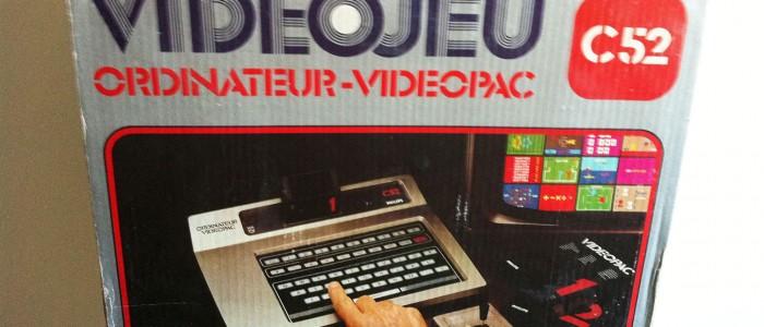 videopac videojeu c52