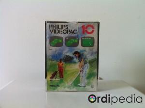 Videopac 10 – Golf