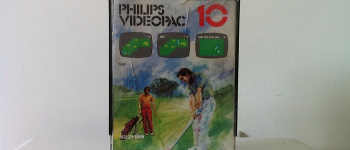 Videopac 10 Golf