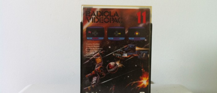 Videopac 11 Cosmic conflict