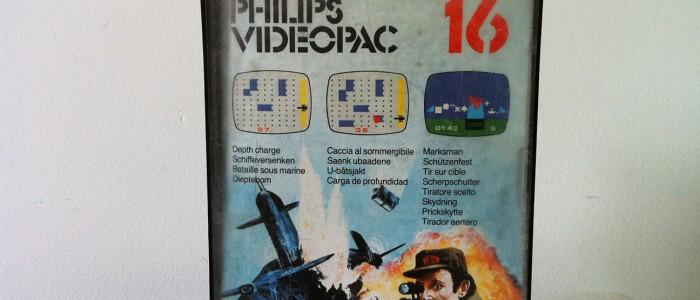 Videopac 16 Bataille navale et tir sur cible