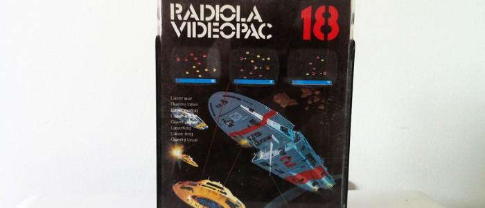Videopac 18 guerre laser