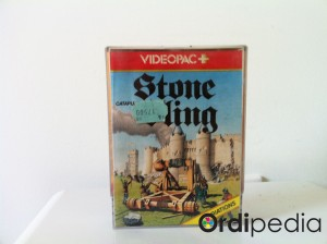 Videopac 20 – Catapulte Stone Sling