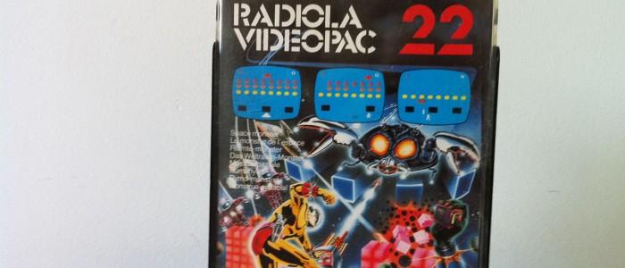 Videopac 22 le monstre de l'espace