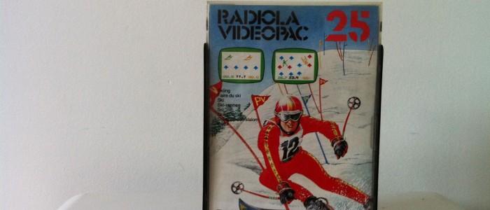 Videopac 25 jeux olympiques d'hiver