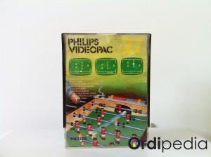 Videopac 27 – Football de table electronique