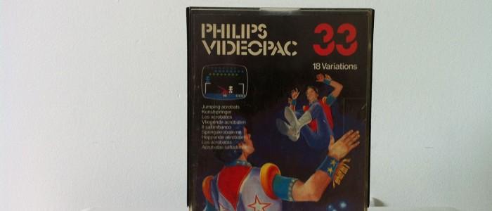 Videopac 33 les acrobates