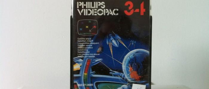 Videopac 34 les satellites attaquent