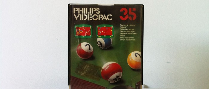 Videopac 35 Billard