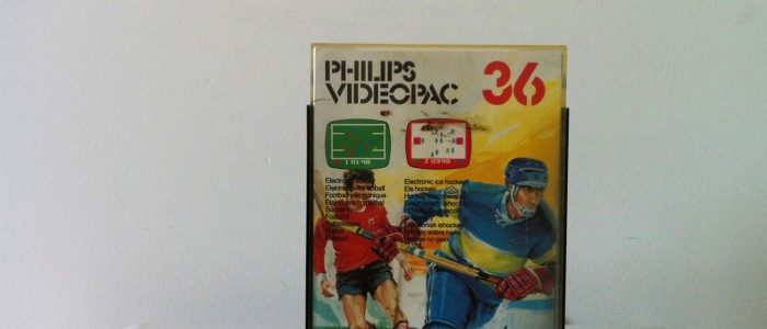 Videopac 36 football et hockey