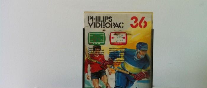 Videopac 36 football et hockey