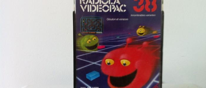 Videopac 38 Gloutons et voraces
