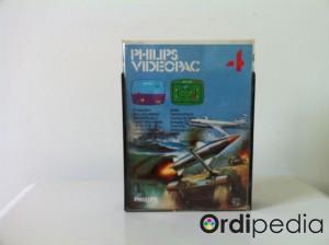 Videopac 04 – Bataille aéronavale et combat de chars