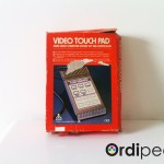 Video touch pad