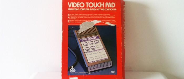 Atari Video touch pad