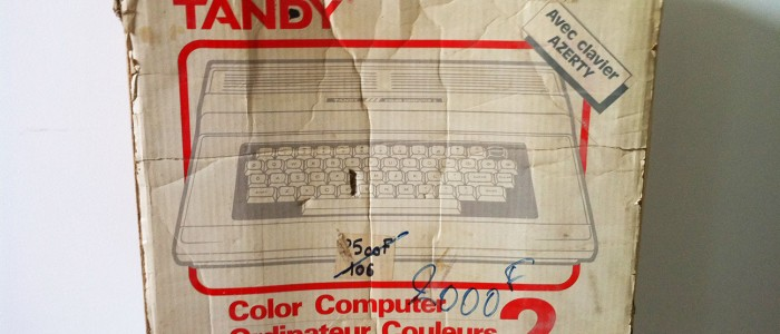 Tandy TRS 80 computer 2