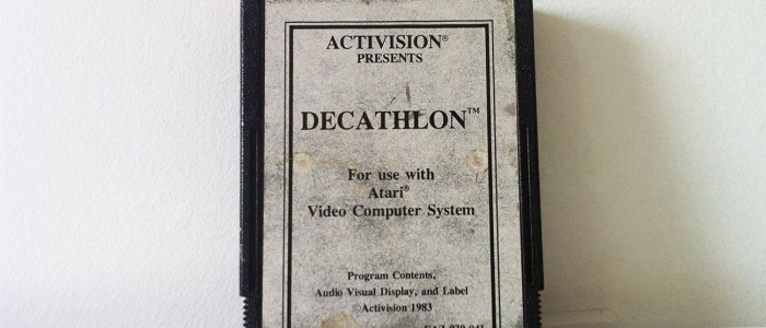 Decathlon sur Atari 2600