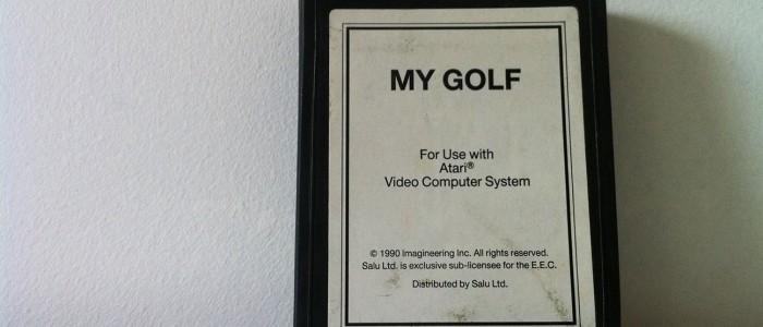 My golf sur Atari