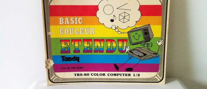 Tandy Basic couleur étendu