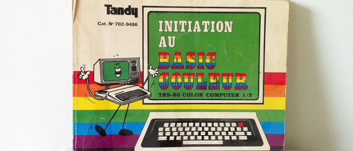 Livre Tandy initiation au Basic