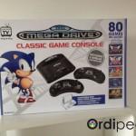 Megadrive classic game console 80 jeux inclus