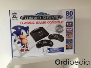 megadrive classic game console 80 jeux inclus ordipedia. Black Bedroom Furniture Sets. Home Design Ideas