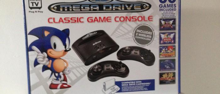 Mégadrive classic game console