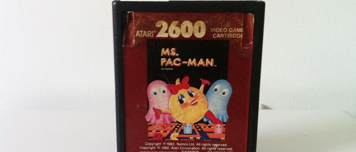 Miss Pan-Man Atari 2600