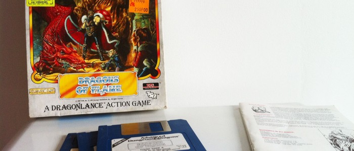 Dragons of flame Atari ST