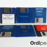 Diverses disquettes Atari ST en loose