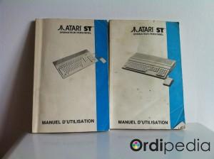 Manuel d'utilisation Atari ST