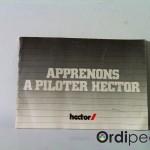 Apprenons à piloter Hector