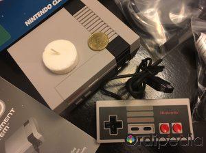 Taille de la NES mini Classic