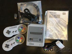 Contenu SNES Classic mini