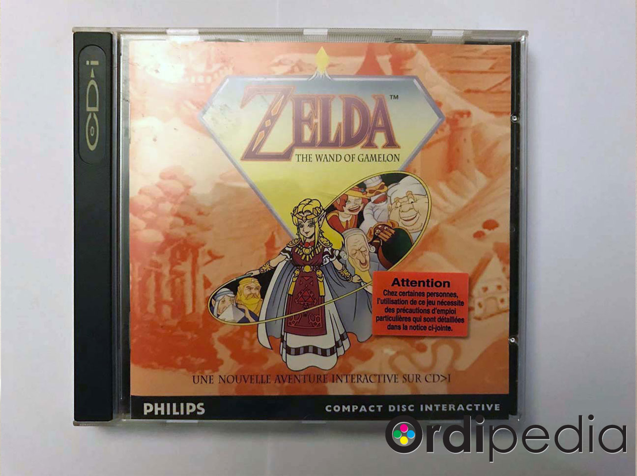 Zelda - The Wand of Gamelon